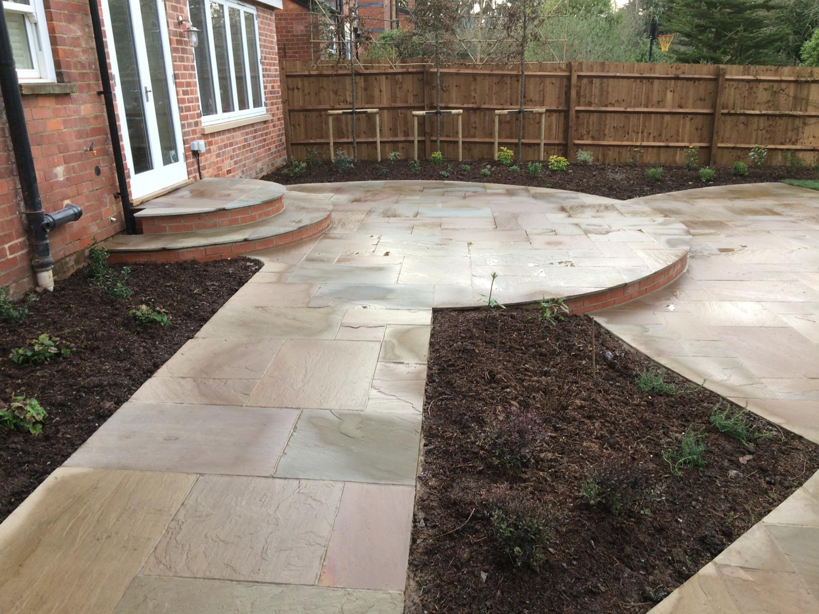 Hard landscaping - patio design - Landscapes portfolio by Martyn Powell Landscapes in Cheltenham