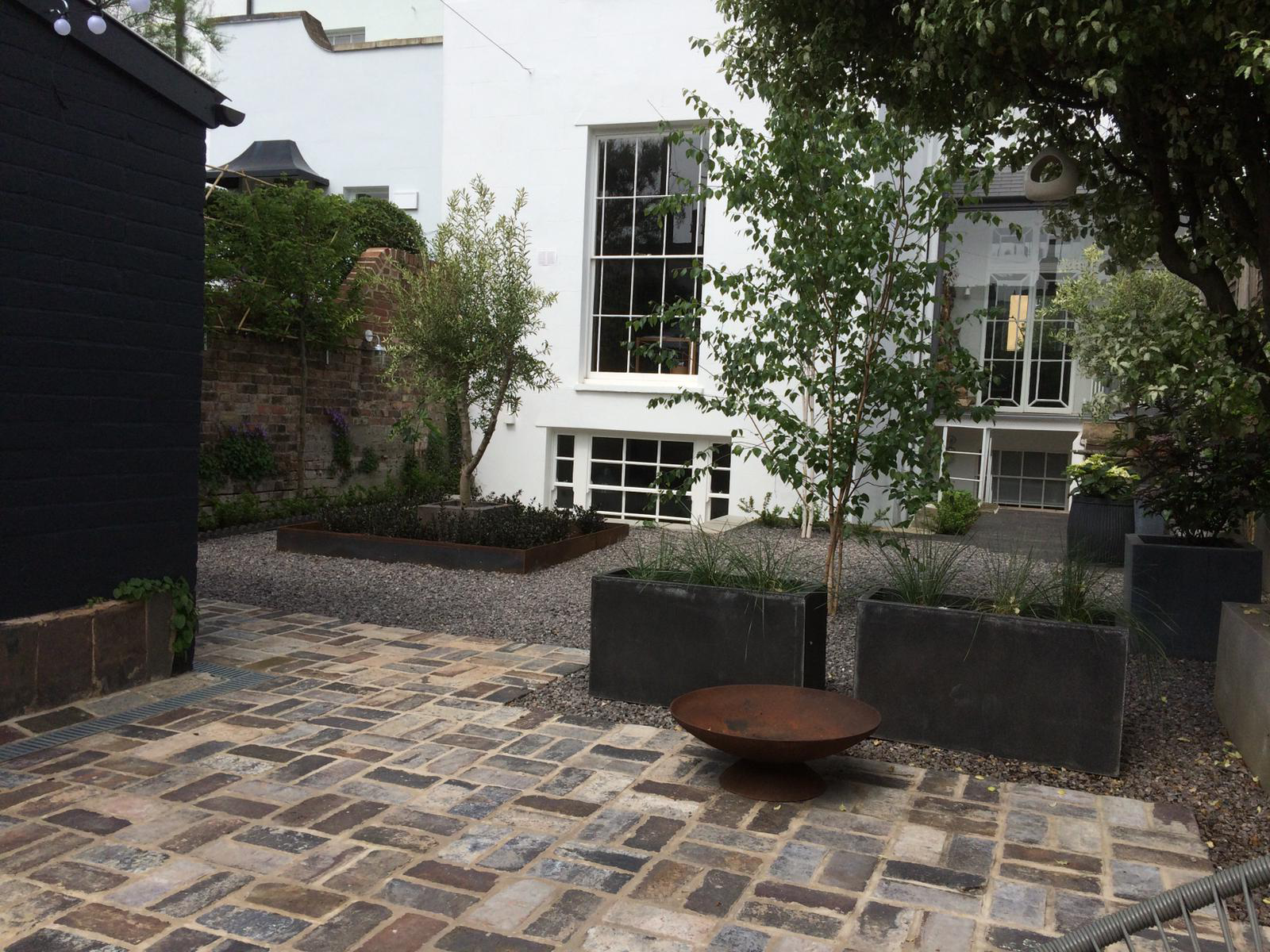 Period property landscaping